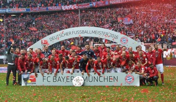 #MiaSanMeister - Deutscher Fussballmeister 2016