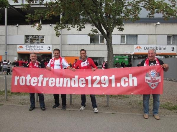 Auswärtsspiel SC Freiburg - FC Bayern München